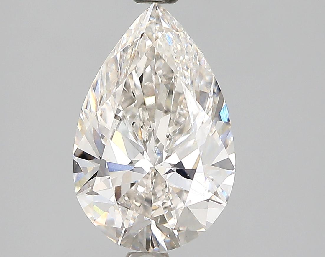 2.00 Carat G-VS1 Ideal Pear Diamond