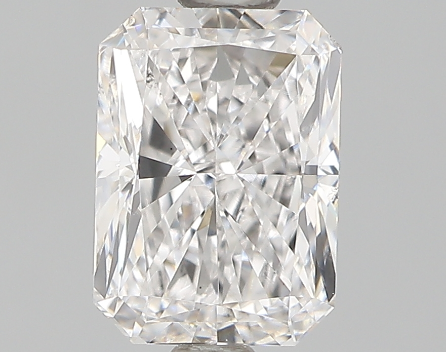 1.02 Carat E-VS2 Ideal Radiant Diamond