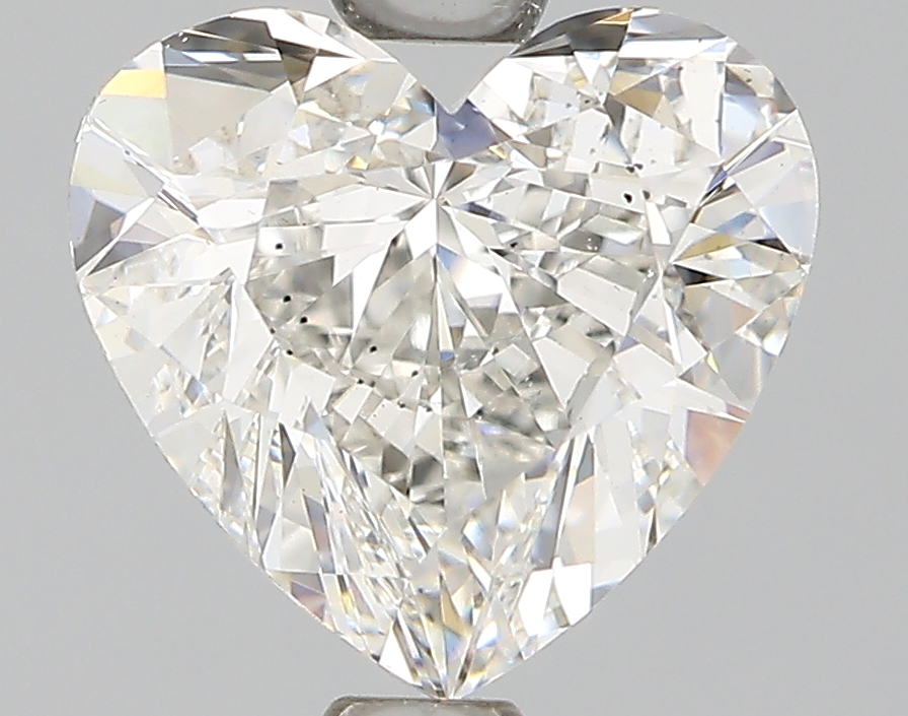 1.50 Carat G-VS2 Ideal Heart Diamond