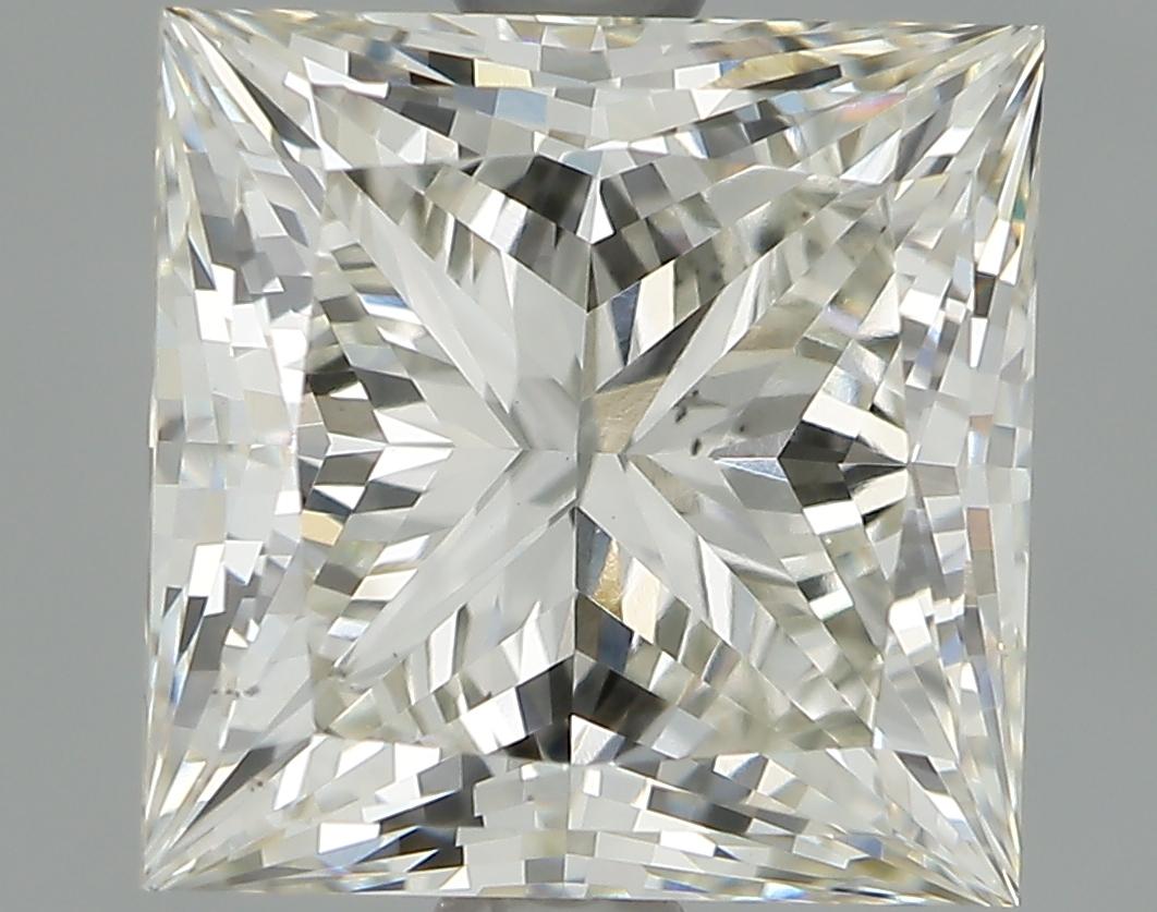 2.08 Carat I-VS1 Ideal Princess Diamond