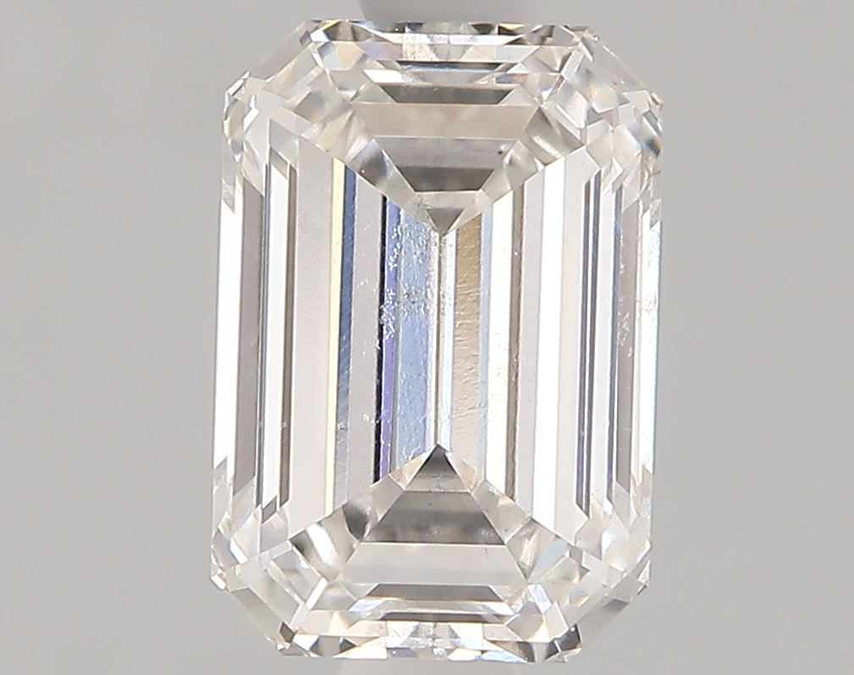 1.09 Carat F-SI1 Ideal Emerald Diamond