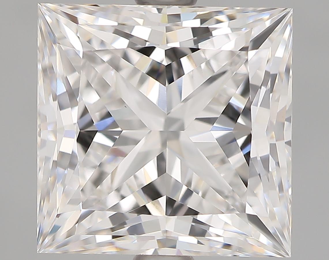 3.13 Carat E-VVS2 Ideal Princess Diamond