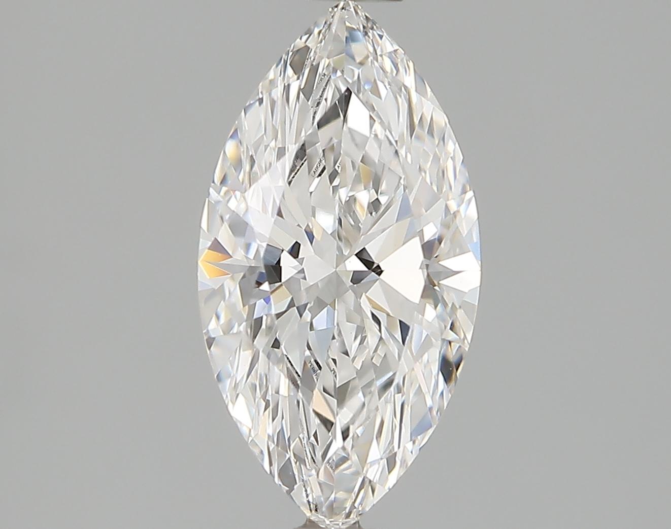 1.14 Carat E-VVS2 Ideal Marquise Diamond