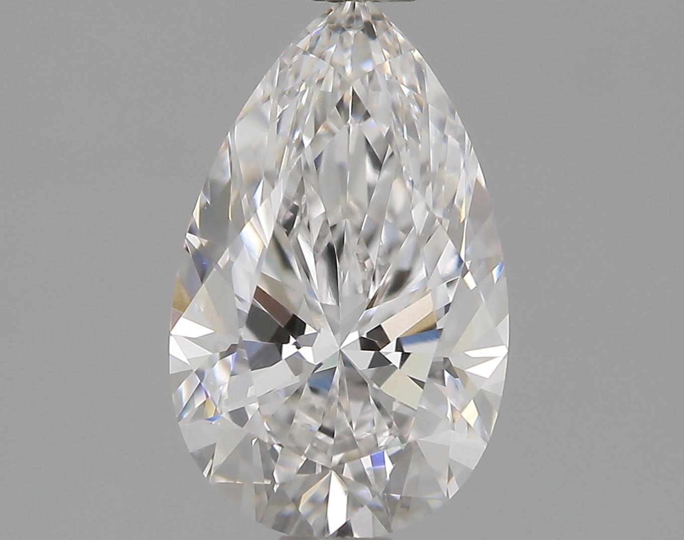 1.06 Carat F-VVS2 Ideal Pear Diamond