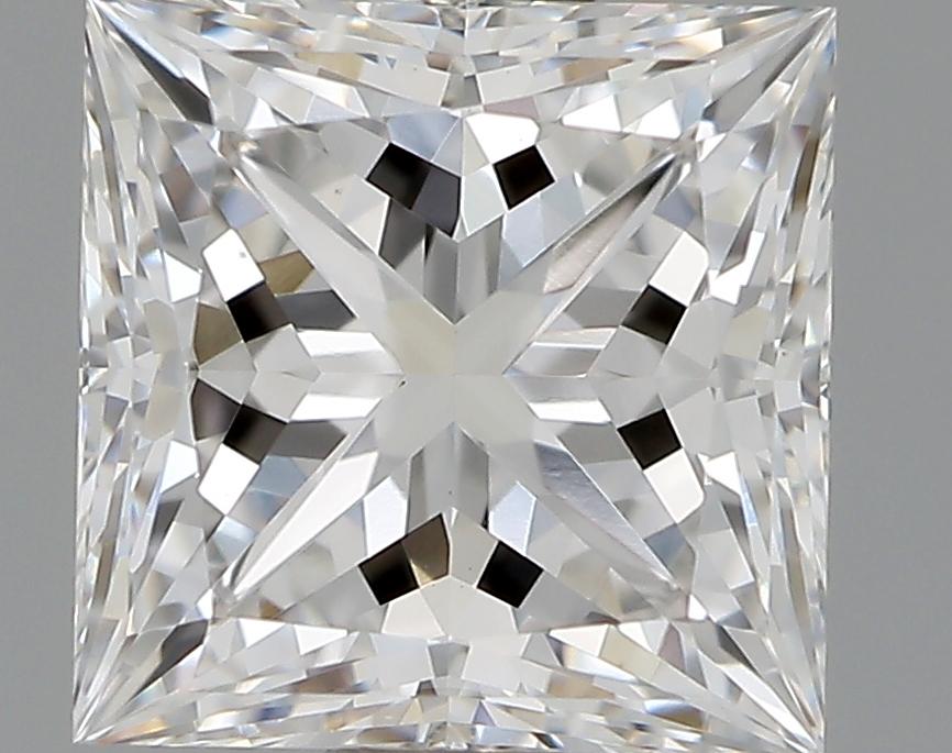 1.07 Carat E-VS1 Ideal Princess Diamond