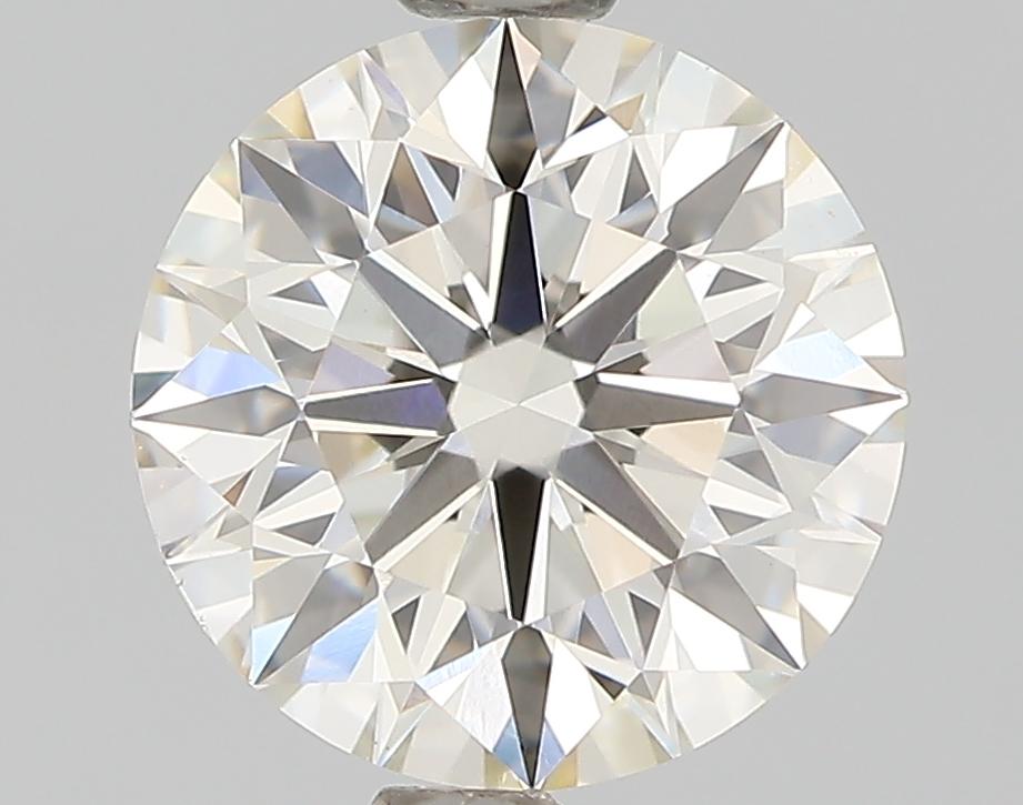 1.31 Carat J-VVS2 Ideal Round Diamond