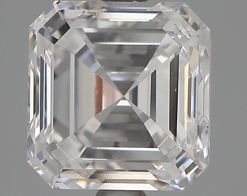 3.20 Carat F-VVS2 Ideal Asscher Diamond