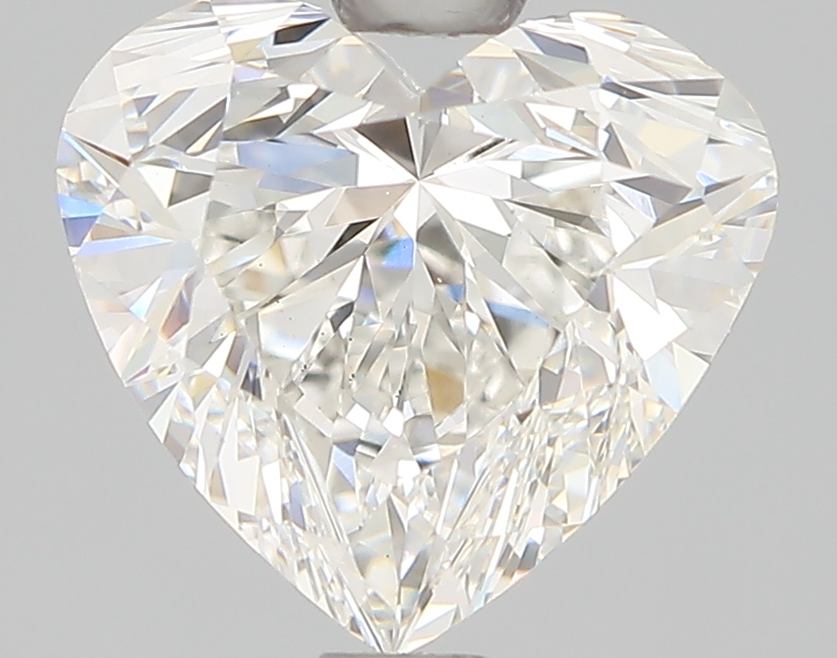 1.50 Carat H-VS1 Ideal Heart Diamond