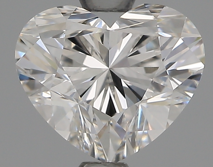 1.51 Carat F-VS1 Ideal Heart Diamond