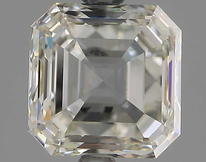 2.50 Carat I-VVS2 Ideal Asscher Diamond